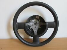 CHEVROLET MATIZ SE FLAIR 2008 3 SPOKE STEERING WHEEL IN BLACK