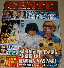 GENTE=1994/43=SANDRA MONDAINI=WILLIAM BALDWIN=BRANDON LEE=DAVID COPPERFIELD=SOCI