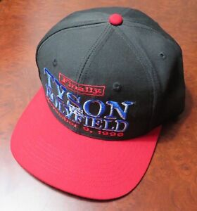 MIKE TYSON vs. EVANDER HOLYFIELD 11/9/1996 SNAP BACK HAT New NEVER WORN Official