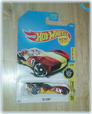 2017 Hot Wheels, Sky Dome (#150/365) Experimotors (#3/10) Best For Track, Red