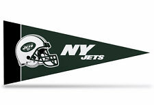 """New NFL New York Jets Mini Pennant  9""""x4""""(22 x 9 1/2cm) Made in USA Flag Banner"""