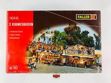 FALLER H0 140446 - 2 KIRMESBUDEN - NUEVO!