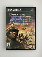 Conflict: Desert Storm II Back to Baghdad - Playstation 2 PS2 Game - Complete