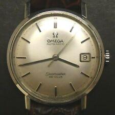 Omega Seamaster De Ville Waterproof Stainless Steel Men's Swiss Automatic Watch
