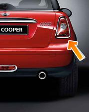 MINI Cooper One S Guidatore Cromato Posteriore Coda Luce Surround Lunetta Trim R56 R57 NUOVO!