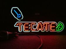 Used Tecate Neon Bar Sign - Clean - Works!