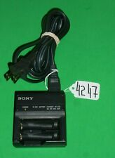 SONY Ni-MH RECHARGEABLE BATTERIES AA or AAA BATTERY CHARGER MODEL BC-CS1