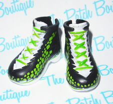 MONSTER HIGH SCREAM UNIFORM FASHION PACK DEUCE DOLL CASKETBALL SNEAKERS SHOES