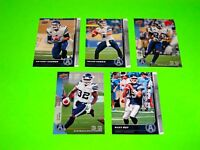 5 TORONTO ARGONAUTS UPPER DECK CFL FOOTBALL CARDS 1 32 80 81 84  #-6