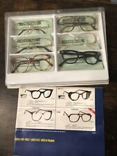 Vintage Titmus Eyeglasses Set/6 Frames 70s 80s Safety Aviator Clear Work Glass