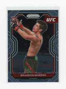 2021 Panini Prizm UFC BRANDON MORENO RC SP First Prizm Base Card # 38