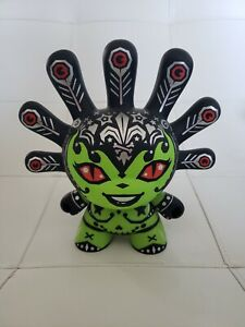 "KIDROBOT DUNNY 8"" MADAM MAYHEM GREEN VERSION DUNNY 8 INCH FIGURE KRONK"