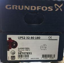 Grundfos Ups2 32 - 80 180 Heating Pump 98707851 Circulator NEW