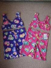 Vendita Bambine Bambini Costumi da bagno cuore Bikini Crop Top & Pantaloncini
