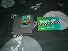 R.C. Pro-Am For Nintendo Entertainment System With Manual