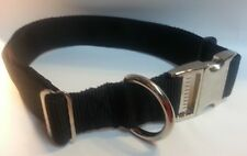 Carter Pet Supply Adjustable Dog Collar 1 Webbing  Metal Handmade USA