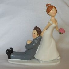 Cake topper matrimonio sposo per la giacca divertente decorazione sopra torta