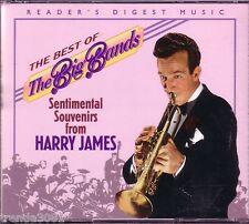 Readers Digest Best Big Bands Sentimental Souvenirs HARRY JAMES 2CD Classic 50s