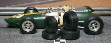 1/32 URETHANE SLOT CAR TIRES 2pr fit Vintage Revell Monogram Cox K&D Strombecker