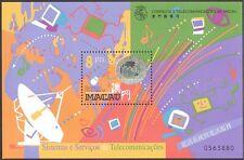 Macau 1999 Radio/Computer/Telecommunications/Holograph/Hologram 1v m/s (b242)