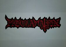 PROCLAMATION EMBROIDERED BACK PATCH