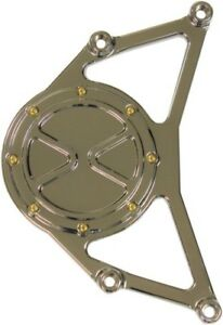 Carl Brouhard Designs Chrome Bomber Series Drive Pulley Cover - DP-BSIS-C