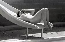 1960s Ron Vogel Negative, buxom nude brunette pin-up girl Lana Rodgers, t217259