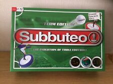 SUBBUTEO TEAM EDITION TABLE TOP FOOTBALL GAME COMPLETE SET