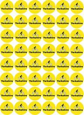 48 x Yorkshire Cycling Pre Cut Cupcake Toppers Premium Quality Sugar Icing Sheet