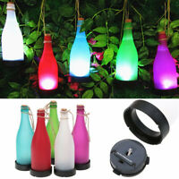 Ee _ Cw _ 1/5Pcs Solar Botella Lámpara LED Yarda Fiesta Jardín Deco Árbol Colgar
