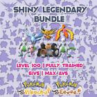 Shiny Legendary Bundle - Pokemon Let's Go - 6IVs - Pikachu - Eevee