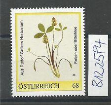 Österreich PM personalisierte Marke Rudolf GALLERS Herbarium 46  **