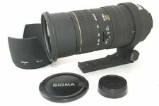 SIGMA APO 50-500mm F/4-6.3 D EX HSM Lens for Nikon Very Good!! from Japan 211066