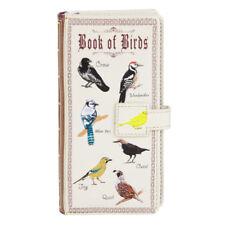 Shagwear Ladies Wallet, Large Purse: Book of Birds beige
