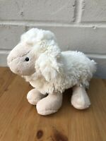 Jellycat Lamb Soft Toy Comforter White Cream JL124 Age 0+ Clean VGC sheep