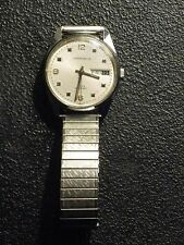 Caravelle Wristwatch, Swiss, Water Resistant, Very Good Condition, 17 Jewels