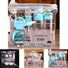 7Pcs/set Mini Travel Mini Plastic Transparent Empty Make Up Container Bottle Kit