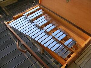 SONOR CONCERT GLOCKENSPIEL KGL32 + Koffer Metallophon Metallofon Xylofon Konzert