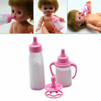 Baby Doll Feeding Bottle-Magic Milk Dummy Pacifiers Set Fashion Selling Fast Bes
