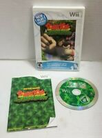 New Play Control Donkey Kong Jungle Beat (Nintendo Wii, 2009) Complete & Working