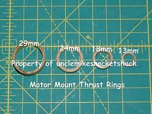 Motor Block/Thrust Ring 29mm Motors Pack Of 5