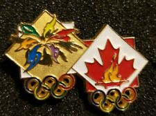 NOC Canada Team 1998 Nagano  OLYMPIC Games Pin LOGO
