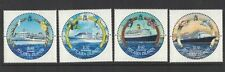 2001 Pitcairn Islands, Cruise Ships, SG 587/90, Set of Four, MUH