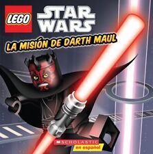 La misión de Darth Maul (LEGO Star Wars) (Spanish Edition)-ExLibrary