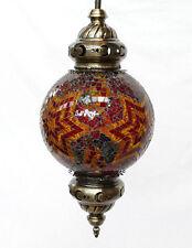 Hängelampe Lampe Orientalisch Craquelé Mosaiklampe Orient 1001 Nacht GM04-b