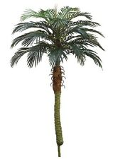 "2 Artificial 58"" Phoenix Palm Tree with Pot Plant Bush Topiary Patio with No Pot"