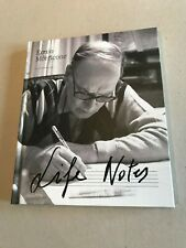 Ennio Morricone Life Notes Book Not Signed Official 2016