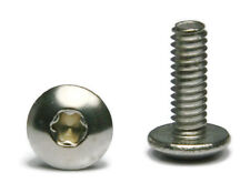 "Torx Truss Head Machine Screw Stainless Steel Screws 1/4""-20 x 1/2 QTY 25"