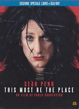 Blu Ray + LIBRO • This Must be the Place SEAN PENN EDIZIONE SPECIALE ITALIANO
