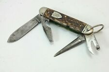 BOY SCOUT KNIFE Vintage ULSTER KNIFE CO. Survival Multi Tool USA American Steel
